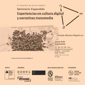 """Seminario expandido """"Experiencias en cultura digital y narrativas transmedia"""""""